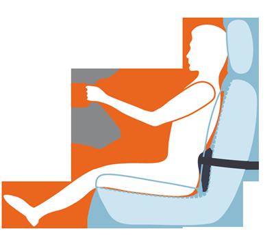 CarPad car seat cushion